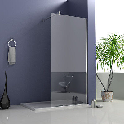 Aica 2000 Wet Room Shower Screen and Tray Enclosure 8mm NANO Glass Panel Cubicle