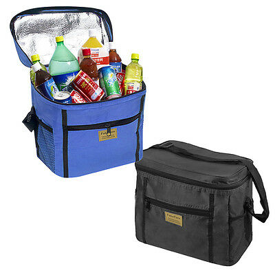 Durable Large Capacity Insulated Cooler Bag Lunch Box with Shoulder Strap