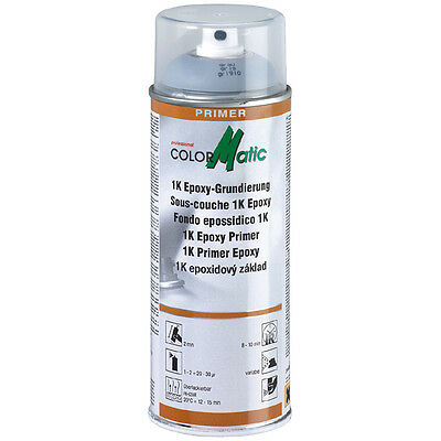 1 BOMBE 400 ml SOUS COUCHE 1K EPOXY SILVER COLORMATIC BMW
