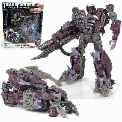 Transformers Dark of The Moon Shockwave Robot Action Figure Spielzeug Toys NEW