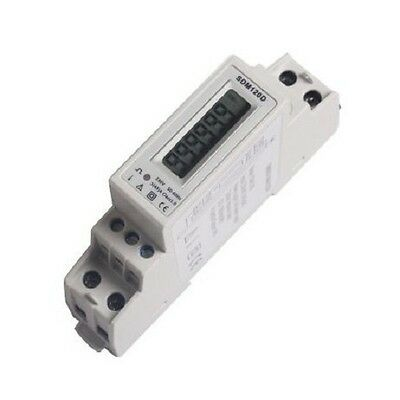Energy Meter 1P Sdm120D Eastron 45A 1 Mod.din Contatore Energia Kwh
