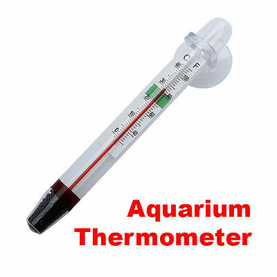 Fish Tank glass thermometer with cup  £1.59 FREE P&P UK SELLER 24 HOUR DISPATCH