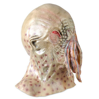 Doctor Who Movie Horrible Ood Latex Octopus Mask Prop Halloween Carnival Cosplay