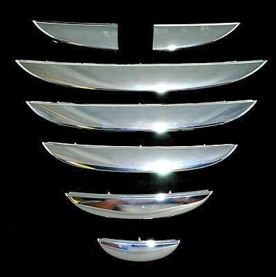 Alfa Romeo Mito upto 2013 Front Chrome Grille Repair Kit Slats Genuine 156099841
