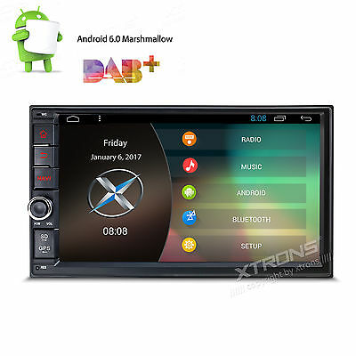 7'' Android 6.0 Double 2Din Car Stereo Radio Quad-Core WIFI GPS BT 16GB No DVD