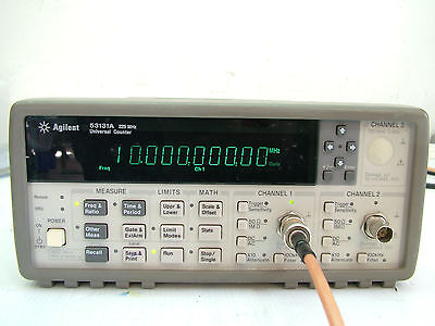 Agilent 53131A 225MHz Universal Counter Frequency Fully tested