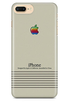 Macintosh Vintage Apple Logo for iPhone 5 5S 6 6S 7 7 Plus Hard Case