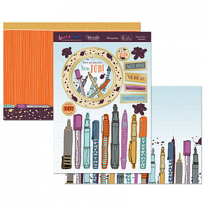 Hunkydory - Time for New Stationery Topper Set