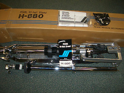 Pearl H-880 HiHat Stand | Hi-Hat Pedal | NOS | New Old Stock | Neu | OVP