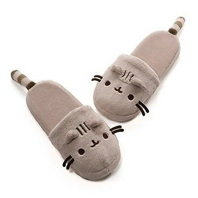 GUND 4053798 Pusheen Plush Slippers NEW