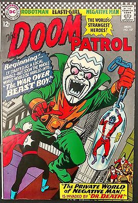 Doom Patrol 1966 #107 Fn/vf Glossy  Sharp,ultimax And Dr. Death Stop By!!