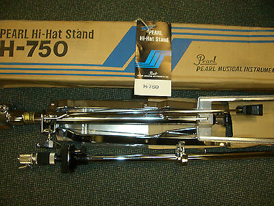 Pearl H750 HiHat Stand | Hi-Hat Pedal | NOS | New Old Stock | Neu | OVP