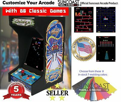 *New* Galaga Upright Bartop/Tabletop Arcade Machine With 60 Classic Games