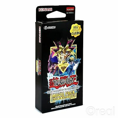 New Yu-Gi-Oh The Darkside Of Dimensions Movie Pack Gold Edition Booster Official