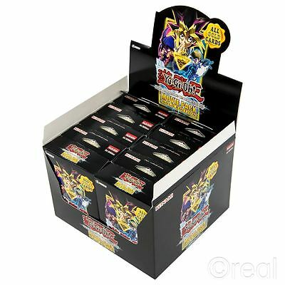 New 10 Packs Yu-Gi-Oh Darkside Of Dimensions Movie Pack Gold Edition Official