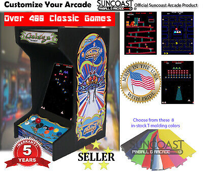 *New* Galaga Upright Bartop/Tabletop Arcade Machine With 412 Classic Games