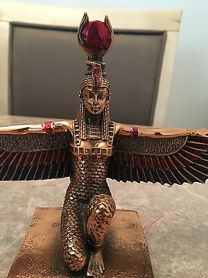 isis (pharaonic statue) bought it from egypt