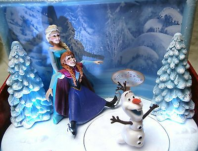 Christmas Disney's Frozen Animated table top toy musical lights  NEW