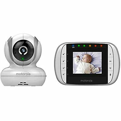 Motorola MBP33S Wireless Video Baby Monitor with 2.8-Inch Color LCD, Zoom Etc...