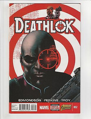Deathlok (2014) #2 NM- 9.2 Marvel Comics