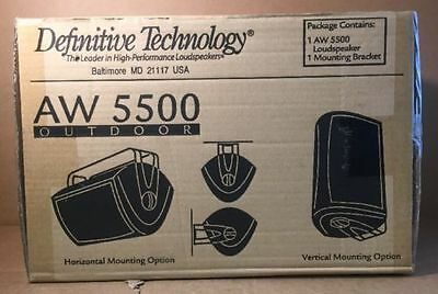 Definitive Technology Aw5500 White Or Black  | Aw-5500 Outdoor Speaker Each
