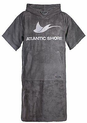 Atlantic Shore | Surf Poncho ➤ Bademantel / Umziehhilfe ➤ Grey