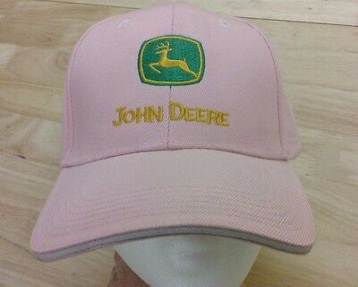 John Deere pink baseball hat. Adjustable size strap. Tag still attached.