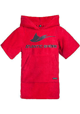Atlantic Shore | Surf Poncho ➤ Bademantel / Umziehhilfe ➤ für Kinder/Kids ➤ Red