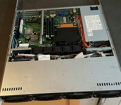 "SuperMicro 1U Server, Quad Core Xeon, 8GB RAM, 4x 3.5"" Drives, 2 NIC  SKU:WSC"