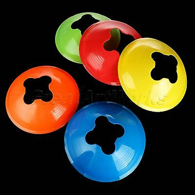 1/5pcs Football Rugby Sport Cross Training Space Marker Soccer Disc Cone Saucer