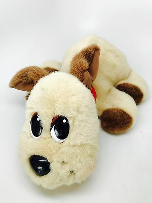 Big! Pound Puppies Soft Plush Toy Mattel 2004 Talking Battery Operated Dog Brown