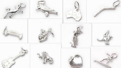 Charms & Pendants - 925 Sterling Silver