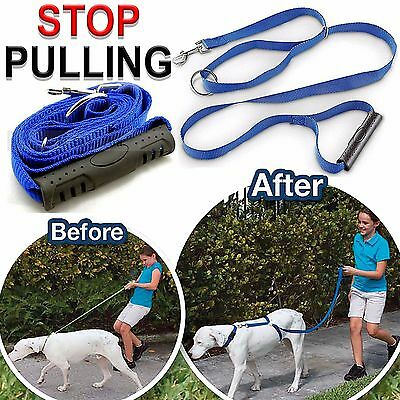 Anti-Pull Dog Harness Walking Leash Lead With Handle Anti Pull Train All Dogs