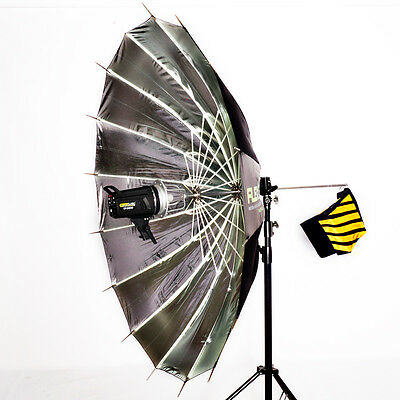 FlexCore Quick Assemble 150cm Para, Even Reflective Parabolic Para Elinchrom Fit
