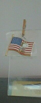 Peanuts Snoopy Flying Ace Operation Enduring Freedom Pin Mint HTF NIP