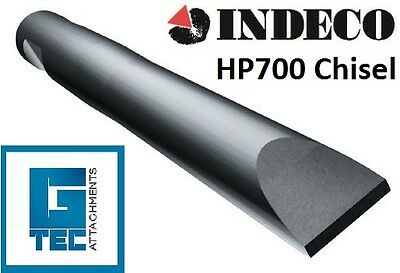 INDECO HP700 Chisel Tool Moil Rock Breaker Hydraulic Hammer NEW