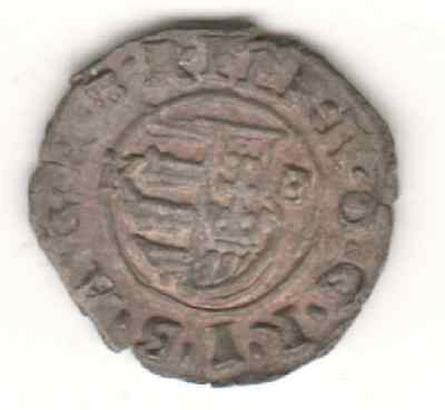 Hungary - 1619 to 1625 Hammered Silver Denar