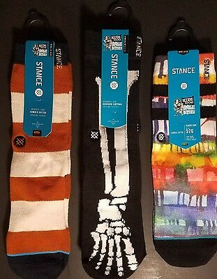 NWT 3 Pairs STANCE SOCKS Kids Ankle Bitters Sz Kids 2-5.5 Youth Boys