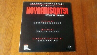 "bd Koyaanisqatsi ""Life Out of Balance"" Francis Ford Coppola Laser Disc 1983"