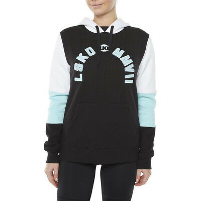 Lki Loosekid Industries Ammo Women'S Pullover Black Mint Hoodie
