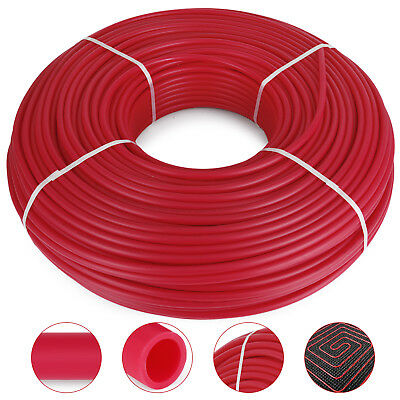 1/2 Inch x 1000ft Pex Tubing Oxygen Barrier O2 Red 1,000 ft Radiant Floor Heat