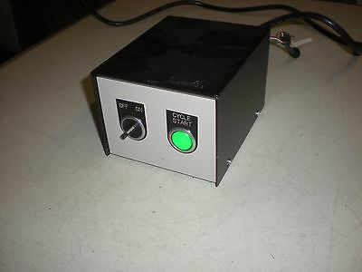 Omron S8VS-06024A Power Supply Mounted in a 5x6-1/4x4-1/4 Enclosure with Switch