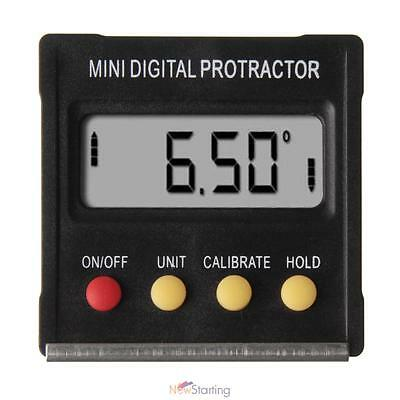 Digital Angle Finder Protractor Inclinometer Clinometer Spirit Level 0~360°