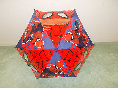 Disney Store Cars Lightning McQueen, Spiderman, or Lion Guard Umbrella for Kids