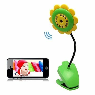 Cute Wireless Wifi Security Camera Baby Monitor IP Smartphone Audio Night Vision