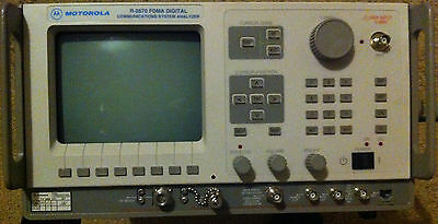 Motorola R-2670A FDMA Digital Communications System Analyzer