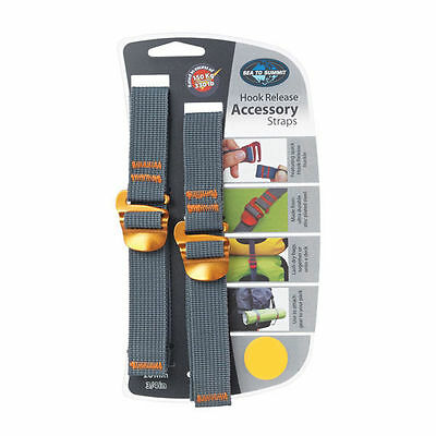 Sea to Summit Tie Down Accessory Strap with Hook 10MM - (1M)