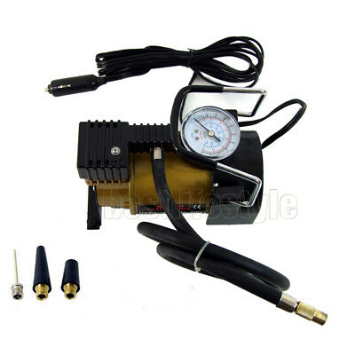 12V Car Air Compressor Heavy Duty 100psi Pump Truck 4WD Boat Tyre Tire Inflator