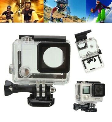 Underwater Waterproof Diving Protective Housing Case Cover for Go Pro Hero 4 New