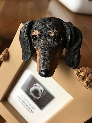 Black and Tan Dachshund picture frame #14, MIB